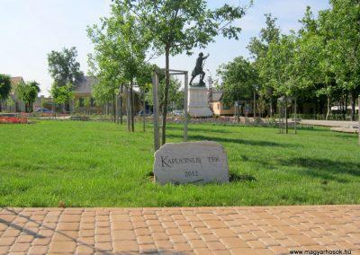 Mór I. világháborús emlékmű felújítás után 2013.06.29. küldő-Emese