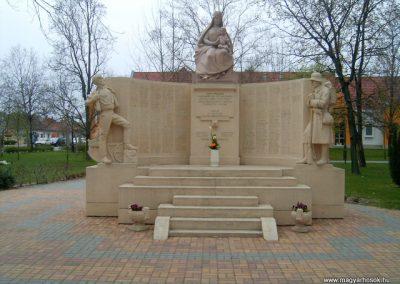 Mórahalom I.vh emlékmű 2008.04.06.küldő-Prong