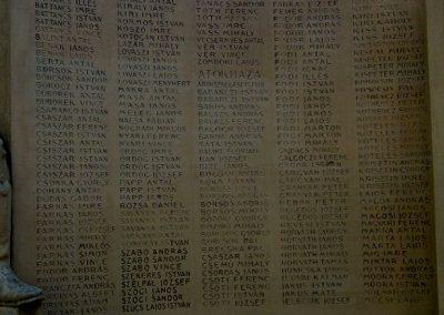 Mórahalom I.vh emlékmű 2011.08.18. küldő-kalyhas