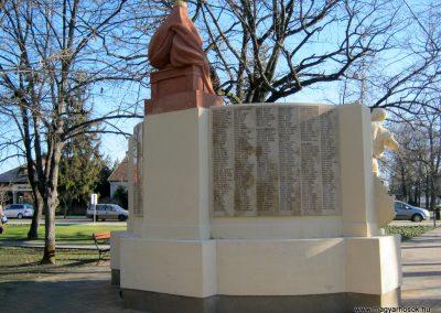 Mórahalom I.világháborús emlékmű 2015.02.14. küldő-Emese (15)