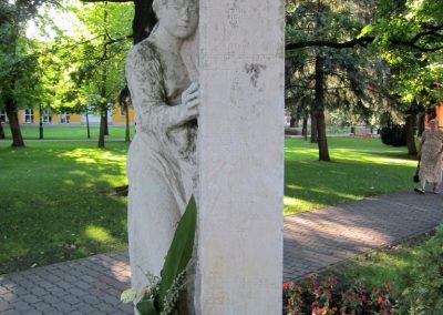 Mórahalom II.vh emlékmű 2011.08.18. küldő-kalyhas