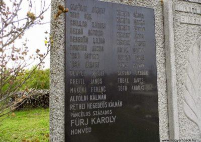 Magyaralmás, II. világháborús emlékmű