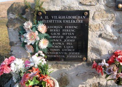 Magyargéc-Kisgéc II.vh emlékmű 2011.03.12. küldő-kalyhas (3)
