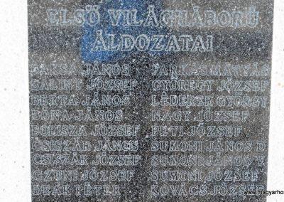 Magyarmecske világháborús emlékmű 2012.08.01. küldő-KRySZ (6)