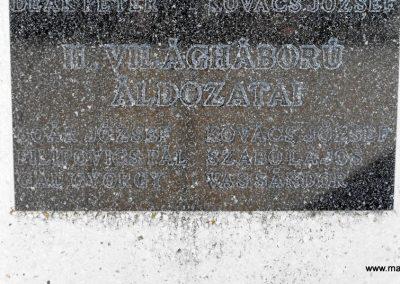 Magyarmecske világháborús emlékmű 2012.08.01. küldő-KRySZ (7)
