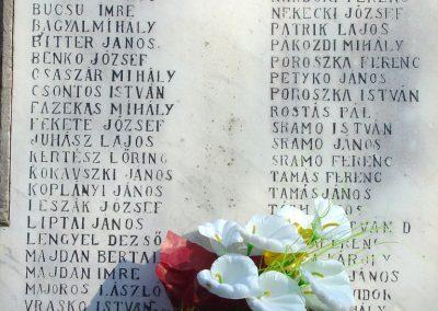Magyarnándor világháborús emlékmű 2008.02.12. küldő-Pfaff László, Rétság (3)