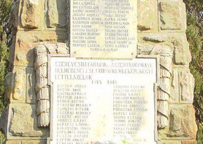 Magyarnándor világháborús emlékmű 2008.02.12. küldő-Pfaff László, Rétság (4)