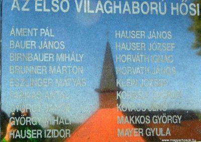 Magyarpolány világháborús emlékmű 2013.10.06. küldő-Méri (3)