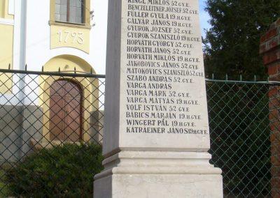Magyarsarlós I.vh emlékmű 2012.01.07. küldő-Turul 68 (1)