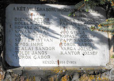 Magyarszecsőd világháborús emlékmű 2012.05.05. küldő-gyurkusz (2)