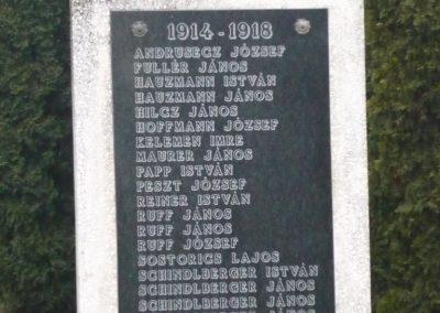 Magyarszentmiklós világháborús emlékmű 2009.01.01.küldő-Sümec (1)
