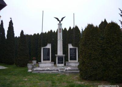 Magyarszentmiklós világháborús emlékmű 2009.01.01.küldő-Sümec