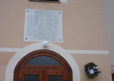 Magyarszerdahely I.vh emléktábla 2009.11.21. küldő-Ágca (1)