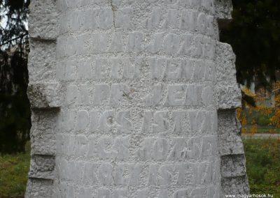 Magyarszerdahely II.vh emlékmű 2009.11.21. küldő-Ágca (2)