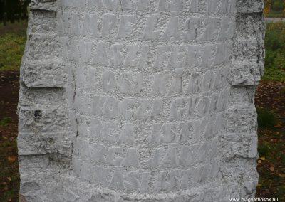 Magyarszerdahely II.vh emlékmű 2009.11.21. küldő-Ágca (3)
