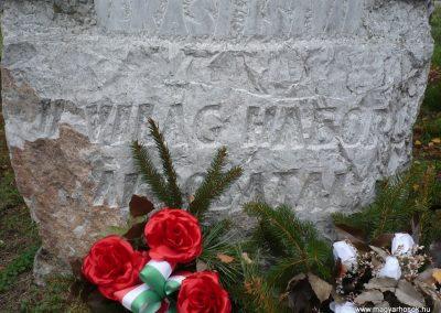 Magyarszerdahely II.vh emlékmű 2009.11.21. küldő-Ágca (4)
