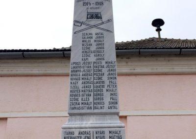 Majláthfalva I. világháborús emlékmű 2015.02.08. küldő-Sümec (2)