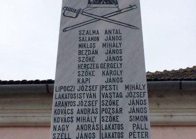 Majláthfalva I. világháborús emlékmű 2015.02.08. küldő-Sümec (3)
