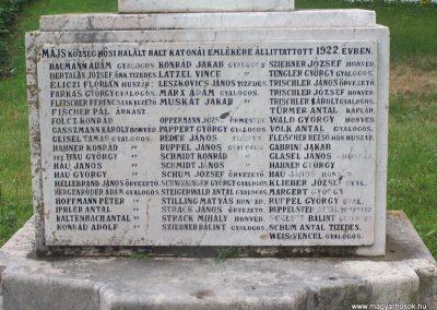 Majs I.vh emlékmű 2009.06.01.küldő-Horváth Zsolt (1)
