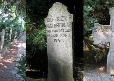 Makó újvárosi református temető, hősök sírjai 2015.06.27. küldő-Emese (1)