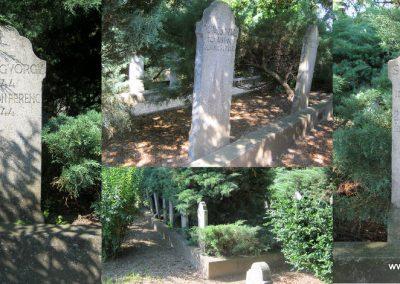Makó újvárosi református temető, hősök sírjai 2015.06.27. küldő-Emese (3)