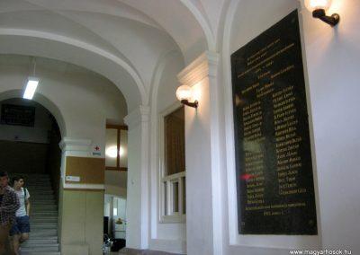 Makó József Attila Gimnázium I. világháborús emléktábla 2015.05.07. küldő-Emese (1)