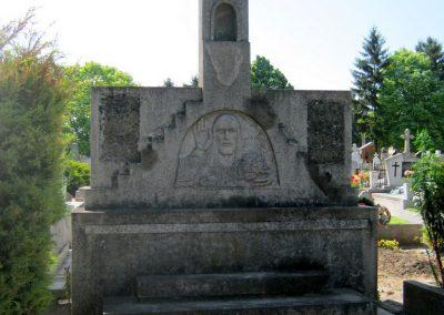 Makó temető, I. világháborús emlékmű és világháborús katonasírok 2015.05.07. küldő-Emese (1)