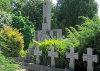 Makó temető, I. világháborús emlékmű és világháborús katonasírok 2015.05.07. küldő-Emese (3)