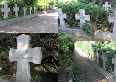 Makó temető, I. világháborús emlékmű és világháborús katonasírok 2015.05.07. küldő-Emese (5)