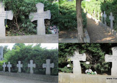 Makó temető, I. világháborús emlékmű és világháborús katonasírok 2015.05.07. küldő-Emese (7)