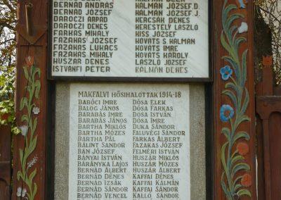 Makfalva világháborús emlékmű 2009.08.23.küldő-Ágca (2)