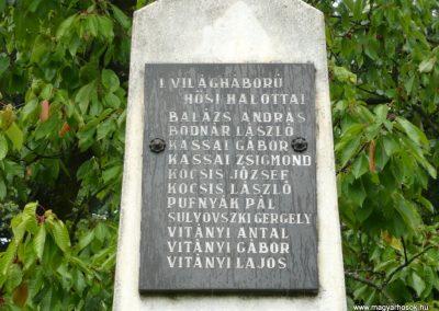 Makkoshotyka világháborús emlékmű 2010.06.20. küldő-Ágca (3)