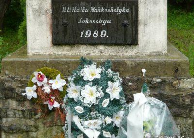 Makkoshotyka világháborús emlékmű 2010.06.20. küldő-Ágca (5)