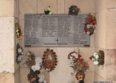 Maklár-Templom falán II.vh emléktábla 2007.06.13. küldő-kalyhas