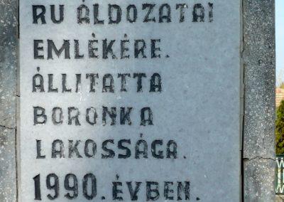 Marcali-Boronka II. világháborús emlékmű küldő-Sümec (3)