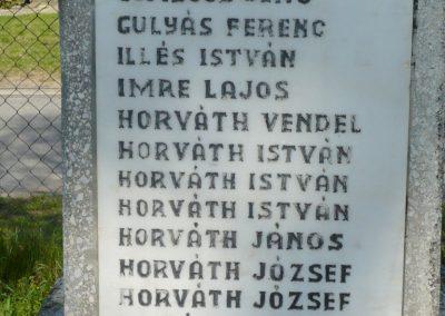 Marcali-Boronka II. világháborús emlékmű küldő-Sümec (4)