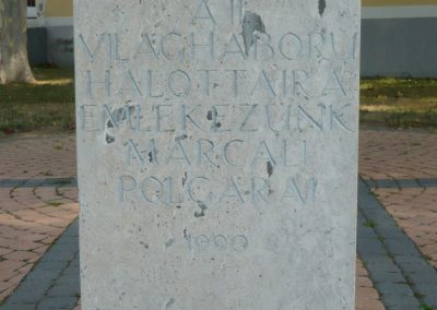 Marcali II. világháborús emlékmű 2012.08.16. küldő-Sümec (3)