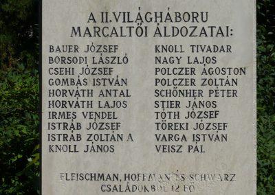 Marcaltő világháborús emlékmű 2009.07.24.küldő-Sümec (8)