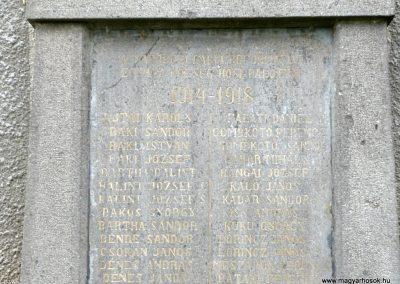 Marosfelfalu világháborús emlékmű 2011.06.21. küldő-Ágca (3)