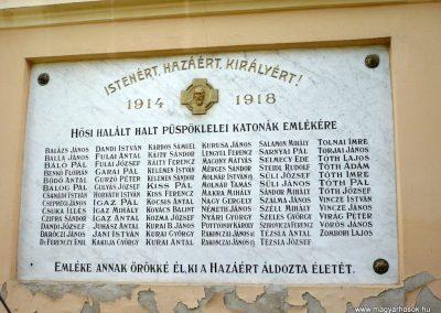 Maroslele világháborús emléktáblák 2013.09.21. küldő-Sümec (2)