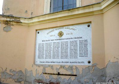 Maroslele világháborús emléktáblák 2013.09.21. küldő-Sümec (3)