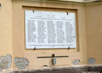 Maroslele világháborús emléktáblák 2013.09.21. küldő-Sümec (4)