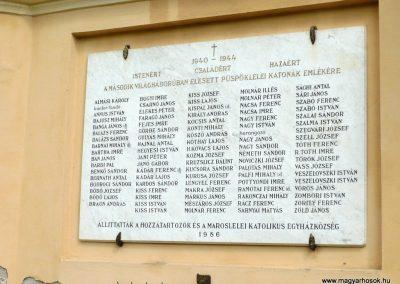 Maroslele világháborús emléktáblák 2013.09.21. küldő-Sümec (6)