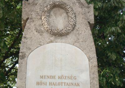 Mende világháborús emlékmű 2007.05.21.küldő-Petrás Mátyás (1)