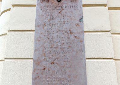Mesztegnyő I. világháborús emléktáblák 2014.10.25. küldő-kalyhas (2)