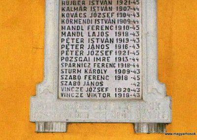 Mezőörs világháborús emléktábla katolikus templom 2013.10.23. küldő-Méri (3)