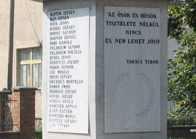 Mezőnagymihály világháborús emlékmű 2007.08.23. küldő-Kályhás (4)
