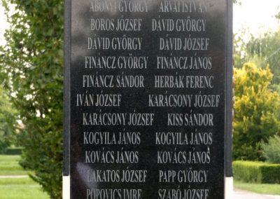 Mezőpeterd világháborús emlékmű 2018.05.28. küldő-Bóta Sándor (5)