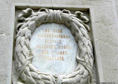 Mezőszentgyörgy világháborús emlékmű 2016.06.08. küldő-Méri (2)