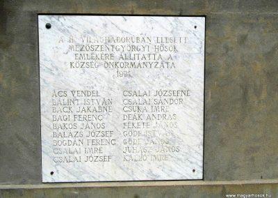 Mezőszentgyörgy világháborús emlékmű 2016.06.08. küldő-Méri (7)